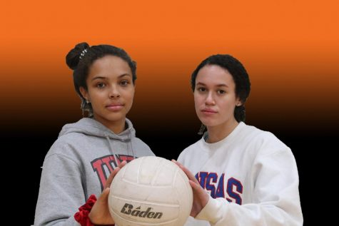 Junior Keyana Cruse and senior Kim Whetstone have become the first D1 volleyball players in school history.