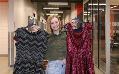 Junior Paige Swartz is organizing prom dress drive